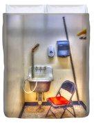 Folding Chair Duvet Cover