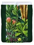 Foliage IIi Duvet Cover