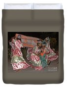 folk dance group from Madagascar 2 Duvet Cover