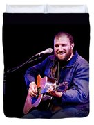 Folk Musician David Bazan In Concert Duvet Cover