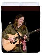 Folk Musician Denise Franke Duvet Cover