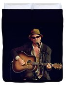 Folk Singer Greg Brown Duvet Cover
