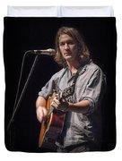 Folk Singer Griffen House Duvet Cover