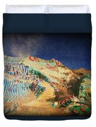 Follow The Yellow Brick Road Duvet Cover