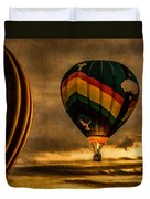 Following Amazing Grace Duvet Cover by Bob Orsillo