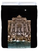 Fontana Di Trevi Duvet Cover