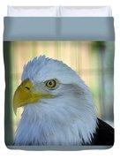 Fontana Eagle Portrait 4 Duvet Cover