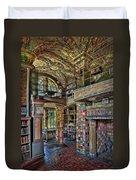 Fonthill Castle Library Room Duvet Cover