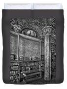 Fonthill Castle Library Duvet Cover