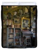 Fonthill Castle Saloon Duvet Cover by Susan Candelario