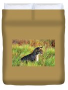 Food In Sight  Duvet Cover