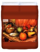 Food - Nature's Bounty Duvet Cover