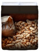 Food - Peanuts  Duvet Cover by Mike Savad