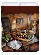 Food - The Start Of A Healthy Meal  Duvet Cover