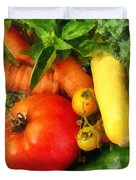 Food - Vegetable Medley Duvet Cover