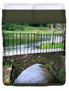 Foot Bridge At Inistioge Duvet Cover