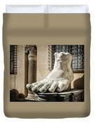 Foot Of Constantine Duvet Cover