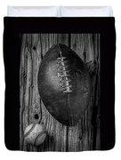 Football And Baseball Duvet Cover