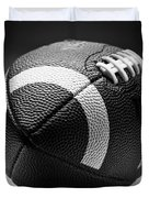 Football Black And White Duvet Cover