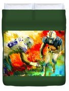 Football IIi Duvet Cover by Lourry Legarde