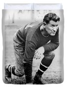 Football Player Jim Thorpe Duvet Cover