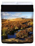 Footpath To Burbage Rocks Duvet Cover