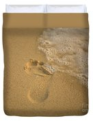 Footprint Duvet Cover