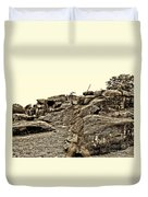 For Ever Watch At Devils Den Duvet Cover by Tommy Anderson