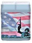 For Freedom Duvet Cover