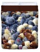 For Sale Baby Chicks Duvet Cover