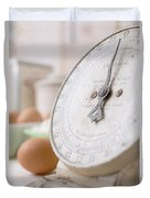 For The Baker Vintage Kitchen Scale  Duvet Cover