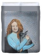 For The Love Of Bunny Duvet Cover