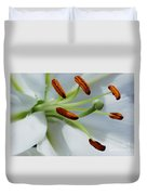 For The Love Of Lilies 8 Duvet Cover