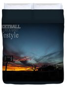 For The Love Of The Game Duvet Cover