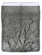 For The Love Of Trees - 2 - Monochrome  Duvet Cover