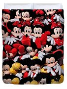 For The Mickey Mouse Lovers Duvet Cover