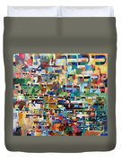 for we have already merited to receive the Torah 8 Duvet Cover