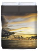 Forbidding Clouds Duvet Cover