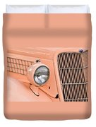 Ford Classic In Salmon Duvet Cover