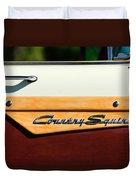 Ford Country Sedan Emblem Duvet Cover