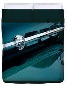 Ford F-2 Pickup Truck Side Emblem Duvet Cover