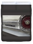 Ford Fairlane 500 Emblem Duvet Cover