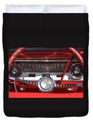 Ford Falcon Dash Duvet Cover