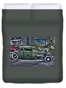 Ford Hot Rod Duvet Cover