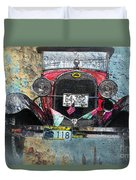 Ford Model A 1928 Oldtimer Duvet Cover