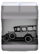 Ford Model A Station Wagon 1930 Duvet Cover