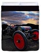 Ford Model T Racer Beat The Storm Home Duvet Cover
