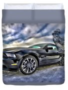 Ford Mustang - Featured In Vehicle Eenthusiast Group Duvet Cover