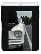 Ford Mustang Gt 350 Looking Back Duvet Cover