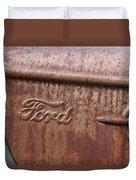 Ford Name Plate Duvet Cover
